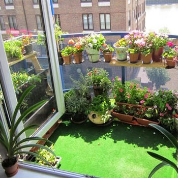 Balcony Synthetic Artificial Grass Turf